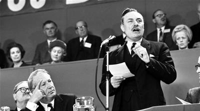 The concerning popularity of Enoch Powell and his racist speech