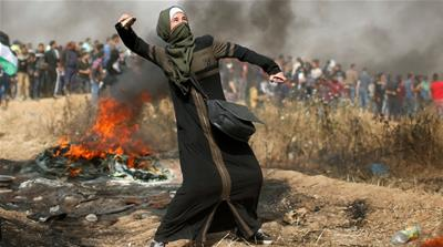 The Palestinian women at the forefront of Gaza's protests