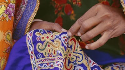 India's Gujarat embroidery - a rich cultural mosaic