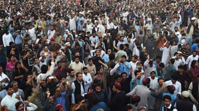 Thousands rally in Pakistan's Lahore for Pashtun rights