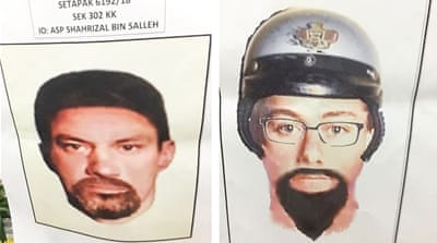 Malaysia releases sketches of suspects in Fadi al-Batsh killing