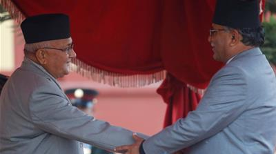 Feuding in Nepal's communist alliance threatens merger