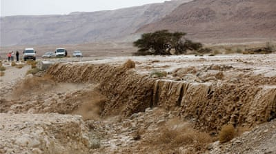 Flash floods leave two dead in the Eastern Med