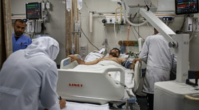 Gaza hospitals: 'Israel was shooting to kill or cause disability'