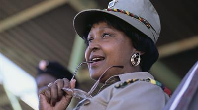 Winnie Mandela: Life in pictures