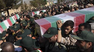 Iran: Fighting 'terror' publicly, mourning the dead secretly