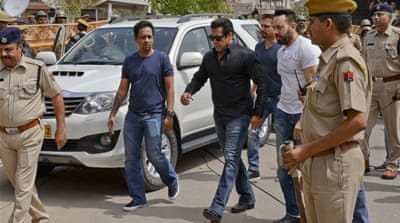 Bollywood star Salman Khan convicted of antelope poaching case