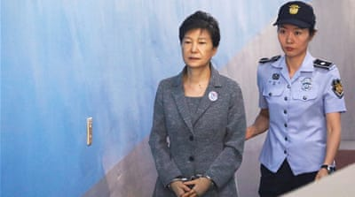 South Korea's Park Geun-hye gets 24-year jail sentence