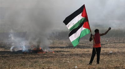 Fears of more violence as Palestinians protest in Gaza