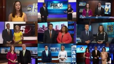 Newsreaders in chorus: The monopolisation of local news in the US