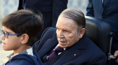 Algeria ruling party asks ailing president to run for fifth term