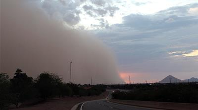 US: Dust storms cause road chaos in Nebraska
