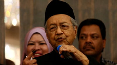 Malaysian opposition wins for the first time since independence