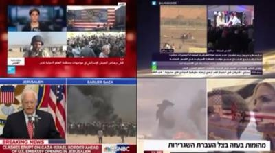 Israel-Palestine: Split screens and dissonant narratives
