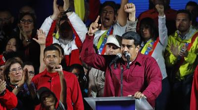 Venezuela's Maduro wins presidential vote boycotted by opposition