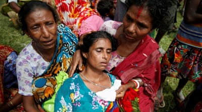 Amnesty: Rohingya fighters killed scores of Hindus in Myanmar
