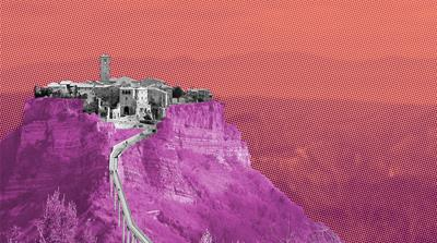 Civita di Bagnoregio: Race on to save 'dying town' of 12 people