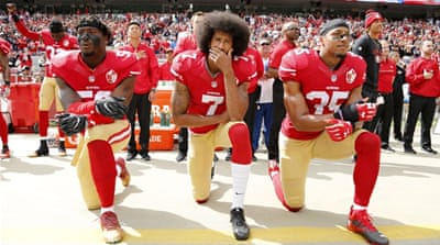 US: NFL to fine teams if players refuse to stand for anthem