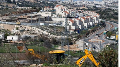 Israel to build 400 settler homes in occupied West Bank