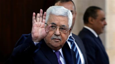 Palestinian President Mahmoud Abbas admitted to hospital
