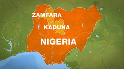 Fight between bandits and militia in northern Nigeria kills 45