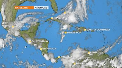 Jamaica hit by flash floods