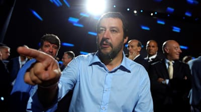Who is Matteo Salvini, Italy's new radical interior minister?