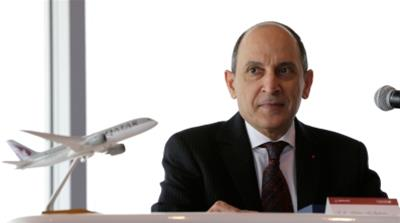 Qatar Airways CEO al-Baker: The blockade did impact us
