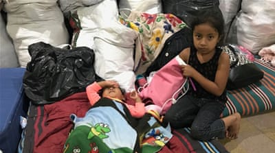 Fuego volcano's child survivors: 'Mummy, I don't want to die'
