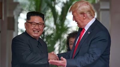 'Two men, two leaders, one destiny': When Trump made Kim a video