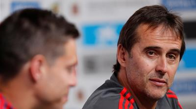 Spain manager Lopetegui sacked a day before World Cup 2018