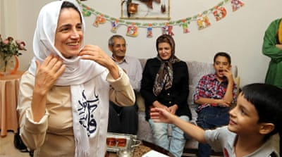 Rights groups demand release of Iranian lawyer Nasrin Sotoudeh