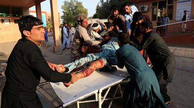 ISIL blast kills 36 as Afghanistan extends Taliban ceasefire