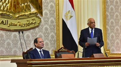 Egypt's Sisi sworn in for second term in office