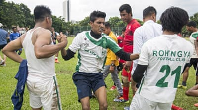 Rohingya footballers in Malaysia aim for recognition
