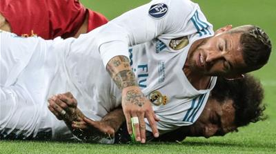 Real Madrid's Sergio Ramos: Salah grabbed my arm first