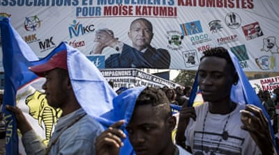 Thousands attend exiled DR Congo leader Moise Katumbi's rally