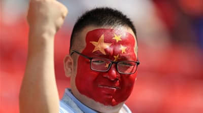 China and its influence at the World Cup in Russia