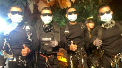 Thai cave rescue ends after last four boys and coach are saved