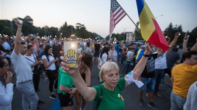 Romania's anti-corruption protests wither away