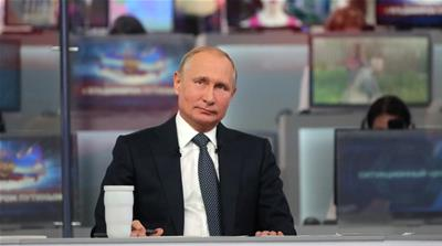 Why Putin's approval rating is falling