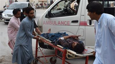 133 dead after two separate attacks on Pakistan political rallies