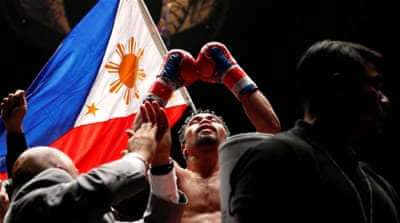 Manny Pacquiao clinches his first knockout victory in 9 years