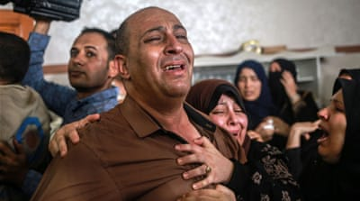 'Like twins': Gaza mourns teenage boys killed in Israeli air raid