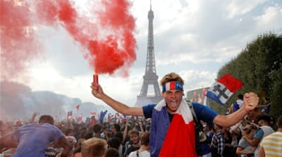 Fans in Paris, Zagreb revel in thrilling World Cup final