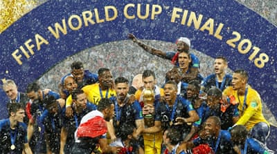 France beat Croatia to win World Cup 2018