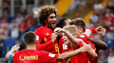 Last-gasp Belgium beat Japan to set up Brazil quarter-final