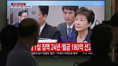 South Korea court hands ex-president Park 8 more years in jail