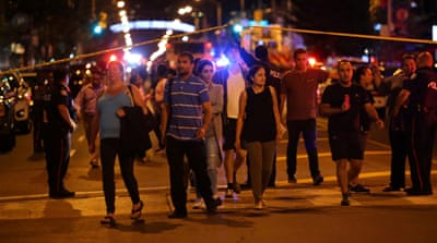 Canada: Two dead, 13 wounded in Toronto mass shooting