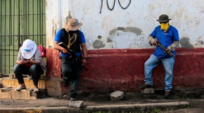 Las turbas: Who are Nicaragua's pro-government armed groups?